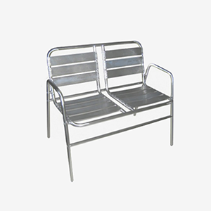 Binary Waiting Chair - Aluminum Chairs