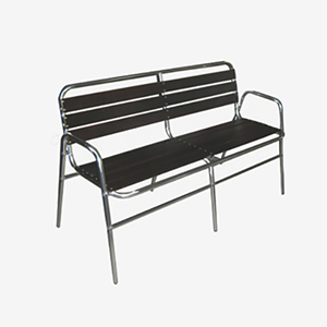 Triple Waiting Chair - Aluminum Chairs