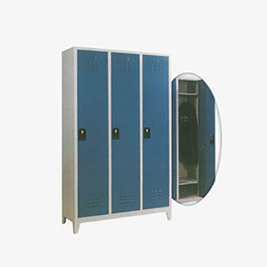 Locker with 3 Compartments (EM 073) - Locker