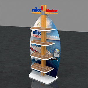 Nilco Marine Product Display Stand - Stand
